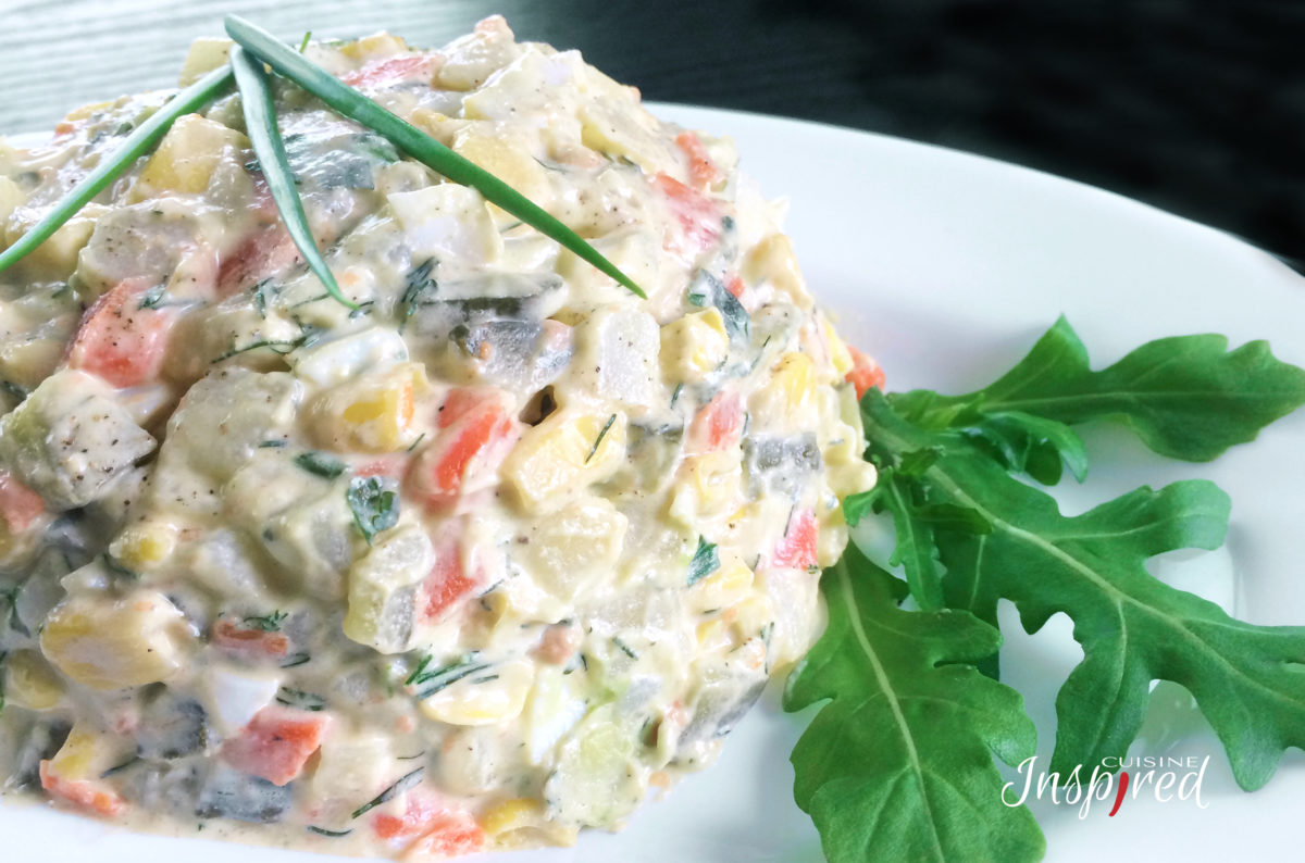 "Russian Salad ""Olivier"" - Cалат ""Оливье"" Recipe 