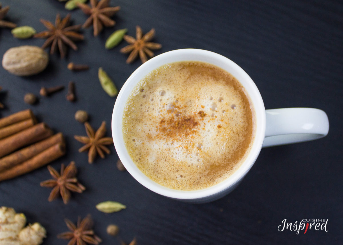 Masala Chai Recipe | Indian Black Tea with Spices & Almond Milk